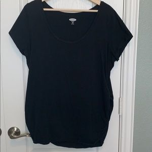 Maternity Old Navy Black Fitted-XXL